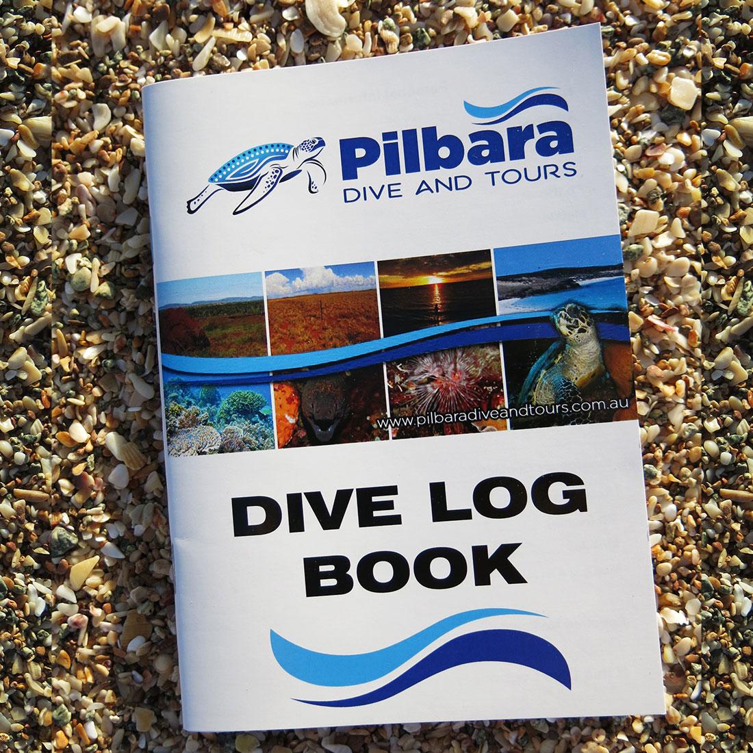 Pilbara Dive and Tours Dive Log Book